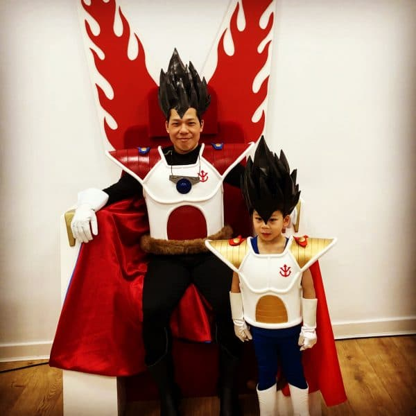 2Maki Saiyan Armour – Royal Battle Armour