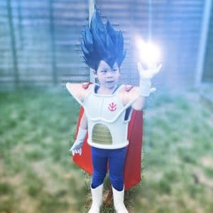 2Maki Saiyan Armour – Royal Battle Armour (Prince Vegeta Armour)