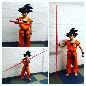 Goku's Extending Power Pole - Nyoibō