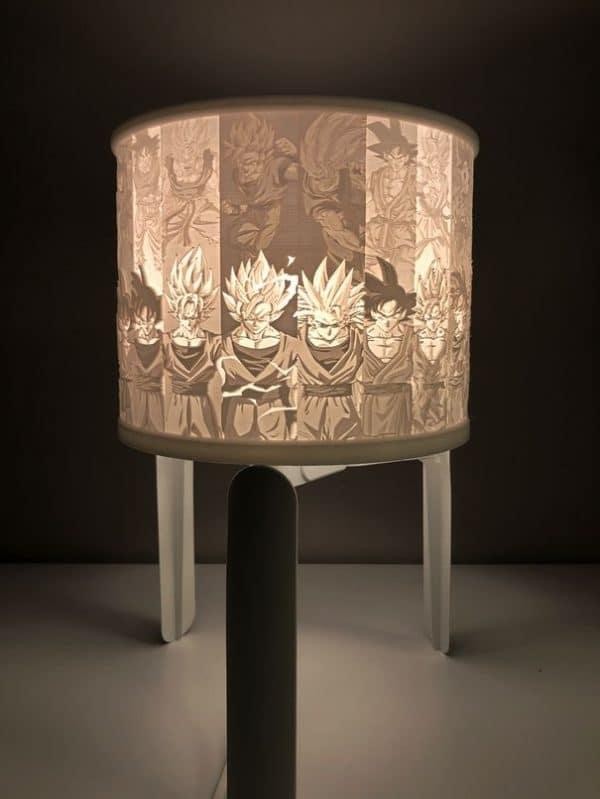 Lithophane Lamp Shade
