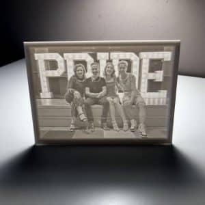 Pride Lithophane