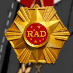 RAD Uniform Badge Obey Me!