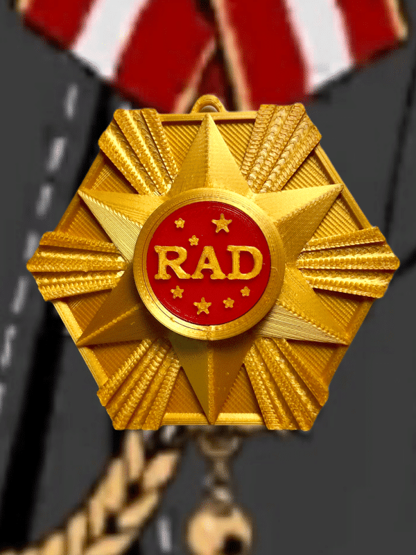 RAD Uniform Badge Obey Me!