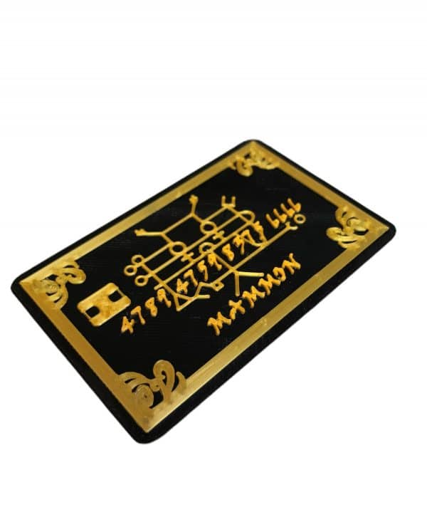 Mammon Goldie Credit Card