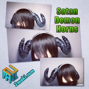 Obey Me! Satan Demon Horns
