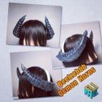 Obey Me! Beelzelbub Demon Horns