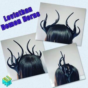 Obey Me! Leviathan Demon Horns
