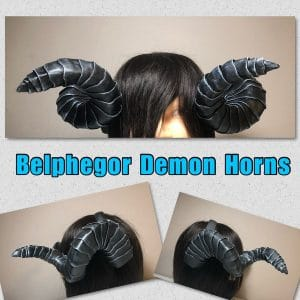 Obey Me! Belphegor Demon Horns