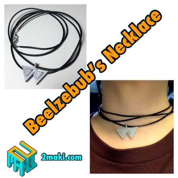 Obey Me! Beelzelbub Necklace
